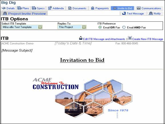 invitation to bid templates