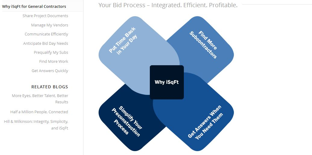 iSqFt Benefits screenshot