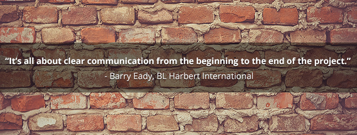 A project rarely finishes better than it starts! - Barry Eady