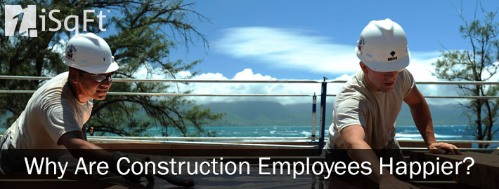 Why Are Construction Employees Happier?