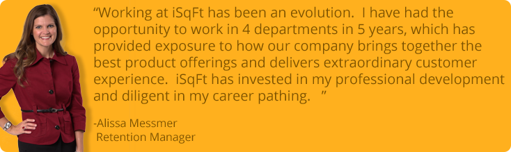 Working at iSqFt has been an evolution...