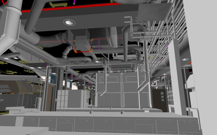 JE Dunn Construction SERA Architects BIM model