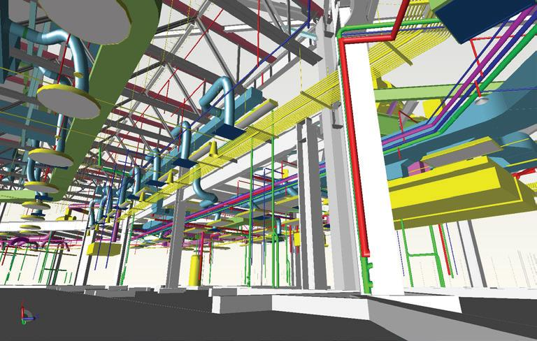Turner Construction BIM model